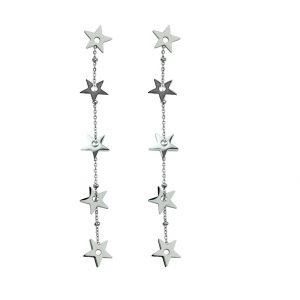 Kolczyki ze stali chirurgicznej – Srebrne Kolczyki Gwiazdki