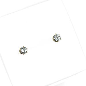 Kolczyki ze stali chirurgicznej – Złote Kolczyki Z Cyrkonią